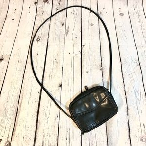 FOSSIL 100% Leather 3 Compartment Crossbody
